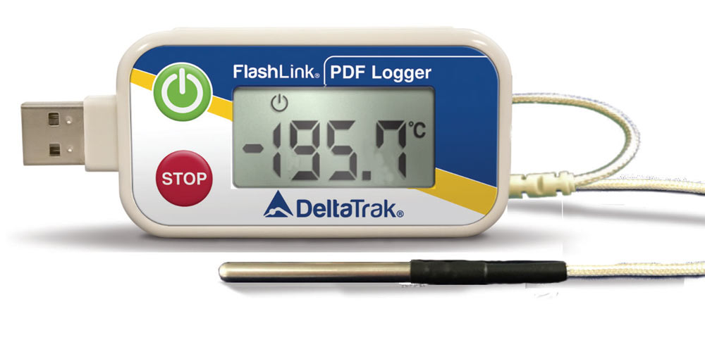 FlashLink Cryo-USB PDF Data Logger